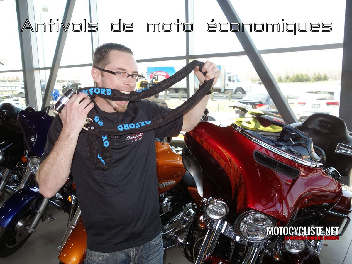 Chronik Mékanic: Antivols de moto efficace sans vous ruiner.
