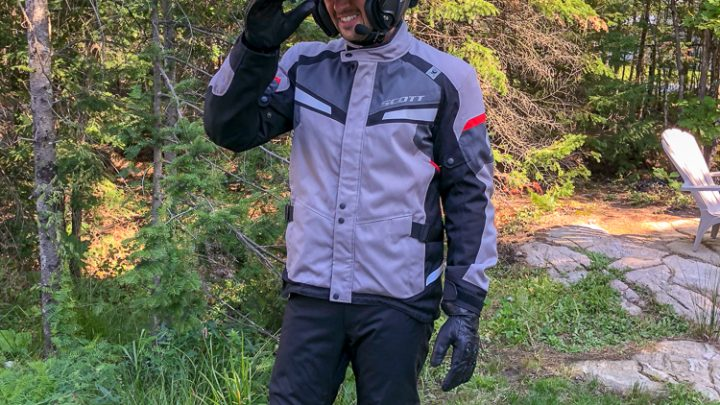 ESSAI LONG TERME:  Ensemble de vêtements de protection moto Scott