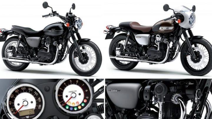 Nouveauté Kawasaki 2019, le retour de l'iconique série W, la W800 2019
