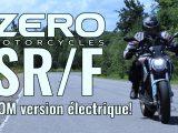 """ESSAI ZERO SR/F 2020 la Super Sport électrique """"électrisante"""""""
