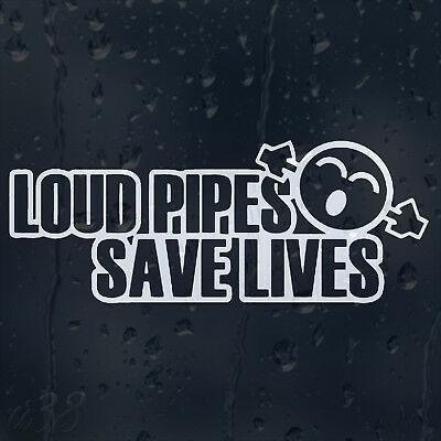 « Loud pipes save lives » ou si vous préférez « le bruit sauve des vies » ; de la foutaise?